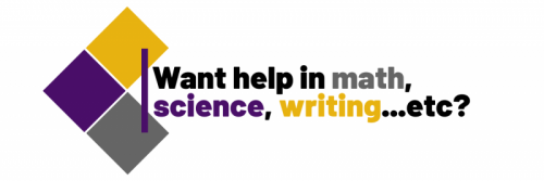 Want help in math, science, writing...etc?