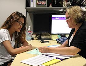 Faculty Offers Aid to Student
